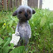 Куклы и игрушки ручной работы. Ярмарка Мастеров - ручная работа Одинокая кошка. Handmade.