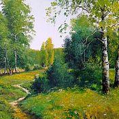 Картины и панно handmade. Livemaster - original item 16 oil Painting Paysages Vladimir Chernov. Handmade.