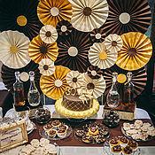 """Свадебный салон ручной работы. Ярмарка Мастеров - ручная работа Оформление юбилея """"Все в шоколаде"""". Handmade."""