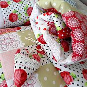 Для дома и интерьера ручной работы. Ярмарка Мастеров - ручная работа Комплект текстиля для вашей детской комнаты или спальни. Handmade.