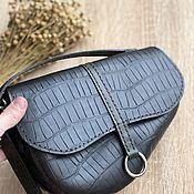 Сумки и аксессуары handmade. Livemaster - original item Leather Saddle Bag. Handmade.