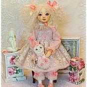 Куклы и игрушки ручной работы. Ярмарка Мастеров - ручная работа авторская будуарная кукла СОФИ. Handmade.
