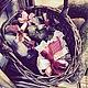"""Подарки для влюбленных ручной работы. Сердечко """"Шоколадное"""". Дизайн-мастерская EcoShiningHome (eco2014). Интернет-магазин Ярмарка Мастеров. Эко стиль"""
