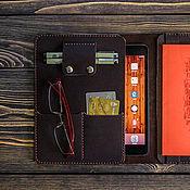Сумки и аксессуары ручной работы. Ярмарка Мастеров - ручная работа Папка-органайзер для iPad. Handmade.