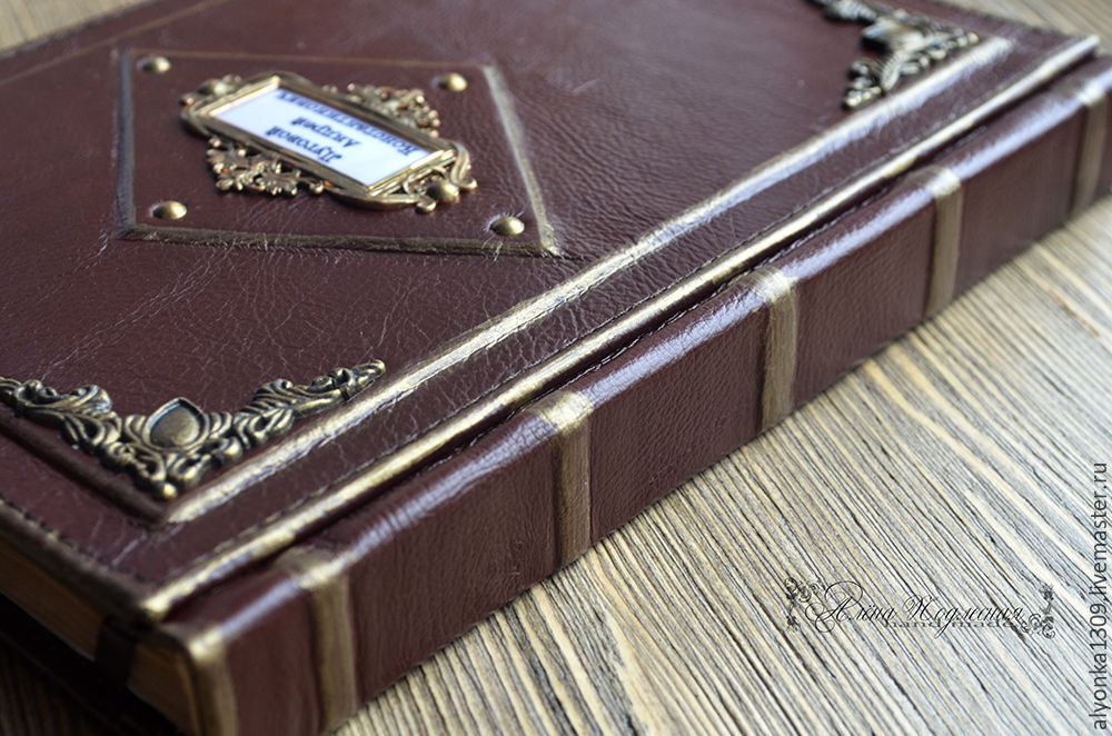 6384ca31947 My Livemaster Diaries handmade. Personal diary. Record book. Workshop books  Alyona Podlesnaya.