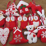 Подарки к праздникам ручной работы. Ярмарка Мастеров - ручная работа Красное и белое. Handmade.