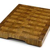 Для дома и интерьера handmade. Livemaster - original item End cutting Board №98. Handmade.