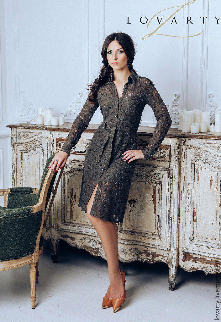 Платье сорочка кружево