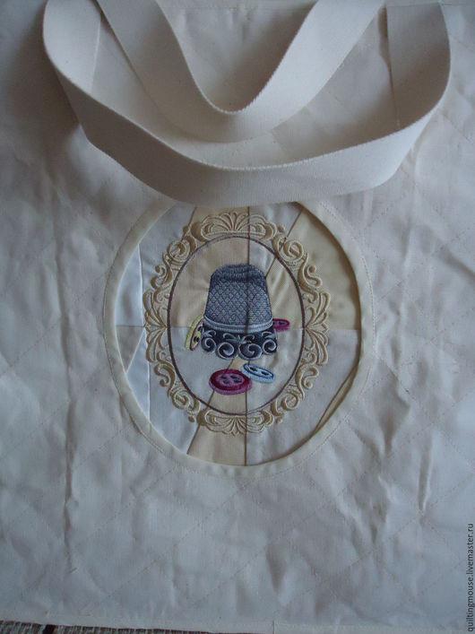 Органайзеры для рукоделия ручной работы. Ярмарка Мастеров - ручная работа. Купить Моя сумка для мастер классов. Handmade. Белый