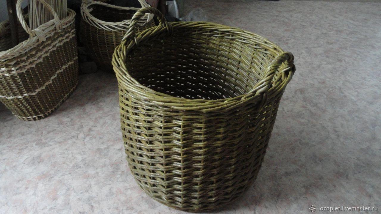 Wicker storage basket, Basket, Miass,  Фото №1