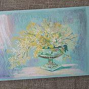 Картины и панно ручной работы. Ярмарка Мастеров - ручная работа Картина пастелью Дыхание Весны. Handmade.