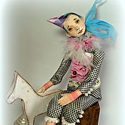 Куклы и игрушки ручной работы. Ярмарка Мастеров - ручная работа коллекционная авторская кукла МАТИС. Handmade.