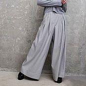 Одежда ручной работы. Ярмарка Мастеров - ручная работа Брюки женские широкие Resort pants. Handmade.