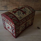 Для дома и интерьера handmade. Livemaster - original item Chest Mezen small. Handmade.