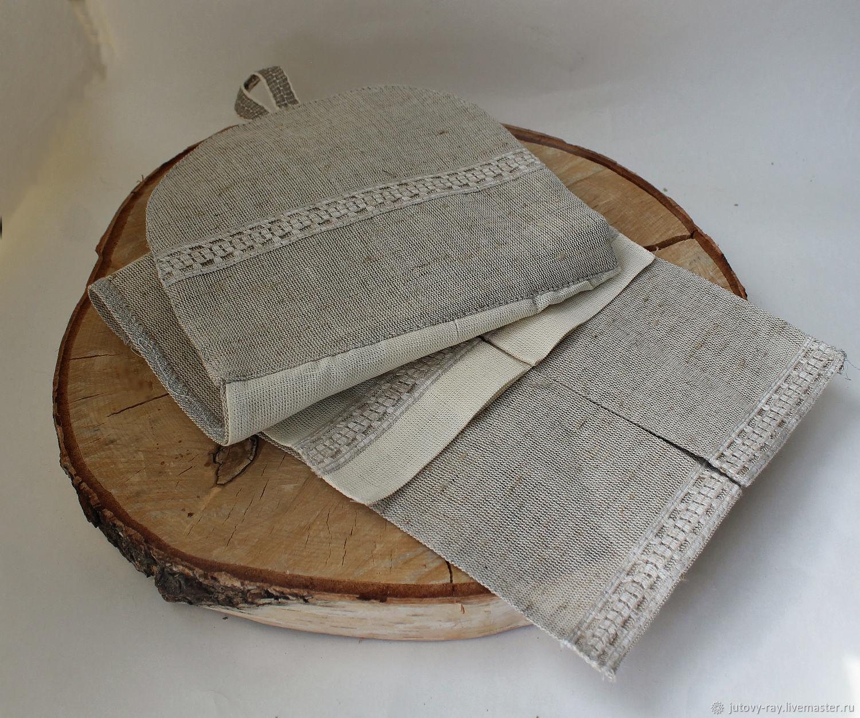 Double linen towel ' Kitchen wipe', Towels, Vologda,  Фото №1