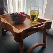 Столы ручной работы. Ярмарка Мастеров - ручная работа Столик для завтраков в постель. Handmade.