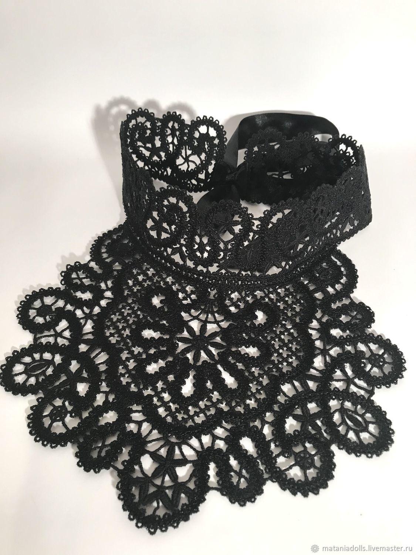 Lace black collar ' Choker 3', Collars, Liepaja,  Фото №1