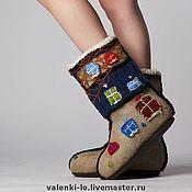 """Обувь ручной работы. Ярмарка Мастеров - ручная работа """"Хундертвассерхаус"""". Handmade."""