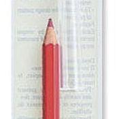 Материалы для творчества ручной работы. Ярмарка Мастеров - ручная работа Карандаш переводной (бумага-ткань). Цвет красный. Handmade.