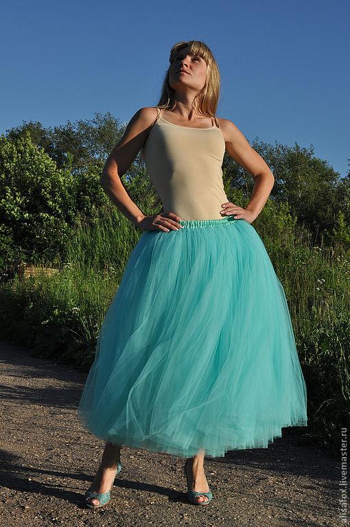 Длинная юбка-пачка своими руками