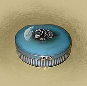 """Для дома и интерьера ручной работы. Ярмарка Мастеров - ручная работа Шкатулка """"Рыбка"""". Handmade."""