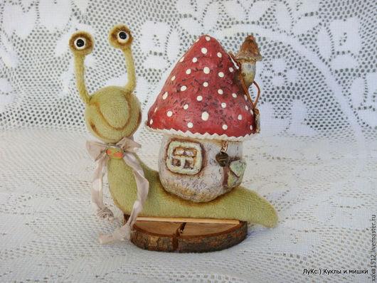 Игрушки животные, ручной работы. Ярмарка Мастеров - ручная работа. Купить Насекомыши Тедди (друг Тедди, улитка, гусеница). Handmade.