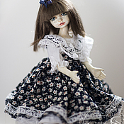 Куклы и игрушки ручной работы. Ярмарка Мастеров - ручная работа Фарфоровая подвижная кукла Эмми. Handmade.