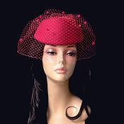 Аксессуары handmade. Livemaster - original item hats: Amazon pink. Handmade.
