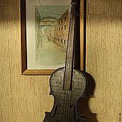 Для дома и интерьера ручной работы. Ярмарка Мастеров - ручная работа Скрипка. Handmade.