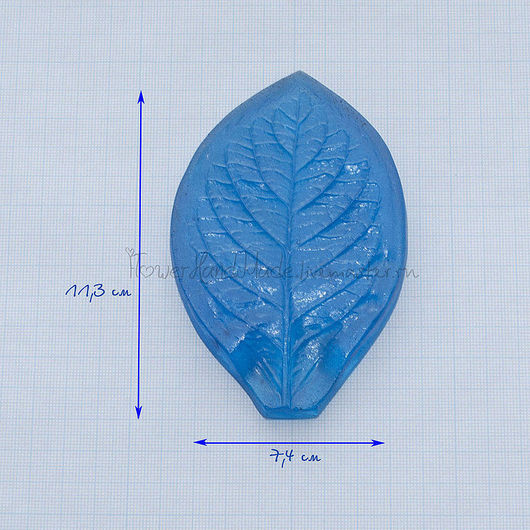М022 Молд лист жасмина большой