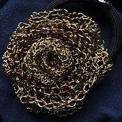 Украшения ручной работы. Ярмарка Мастеров - ручная работа Роза - заколка для волос. Handmade.