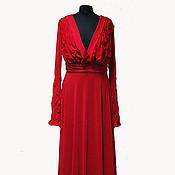 Платья ручной работы. Ярмарка Мастеров - ручная работа Длинное вечернее платье. Handmade.