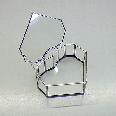 Свадебный салон ручной работы. Ярмарка Мастеров - ручная работа Шкатулка стеклянная. Handmade.