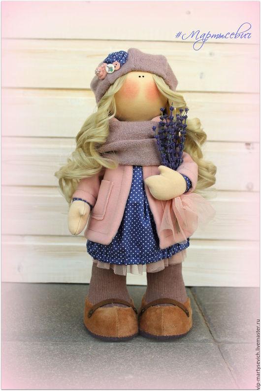 Коллекционные куклы ручной работы. Ярмарка Мастеров - ручная работа. Купить кукла текстильная. Handmade. Коричневый, кукла ручной работы