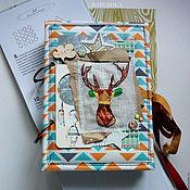 Канцелярские товары handmade. Livemaster - original item Album/ Notepad