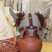 """Для дома и интерьера ручной работы. Ярмарка Мастеров - ручная работа Шапка для бани """"Викинг"""". Handmade."""