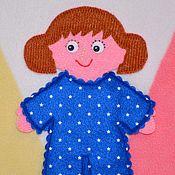 Куклы и игрушки ручной работы. Ярмарка Мастеров - ручная работа Кукла Вероничка. Handmade.