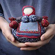 """Куклы и игрушки ручной работы. Ярмарка Мастеров - ручная работа Народная кукла кубышка-травница """"зимняя"""". Handmade."""