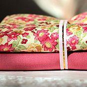Материалы для творчества ручной работы. Ярмарка Мастеров - ручная работа Набор тканей Цветочный -3. Handmade.