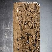 "handmade. Livemaster - original item Vase ""Trudging roses"". Handmade."