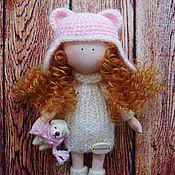 Куклы и игрушки ручной работы. Ярмарка Мастеров - ручная работа Куколка с игрушкой. Handmade.