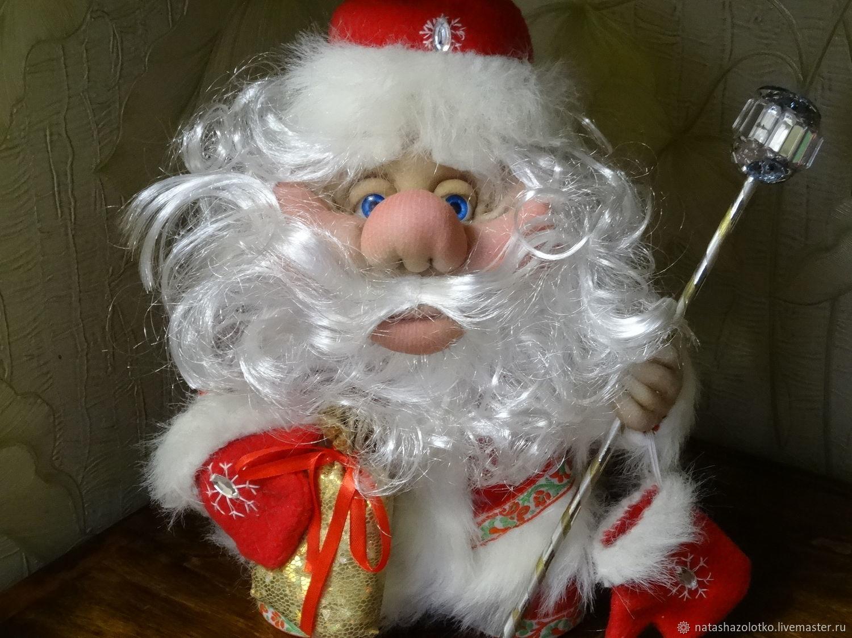 Дедушка Мороз, Народная кукла, Таганрог,  Фото №1