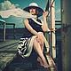 Юбки ручной работы. Комплект Eletto из блузы и пышной юбочки. Екатерина Зайцева. Интернет-магазин Ярмарка Мастеров. Блузка