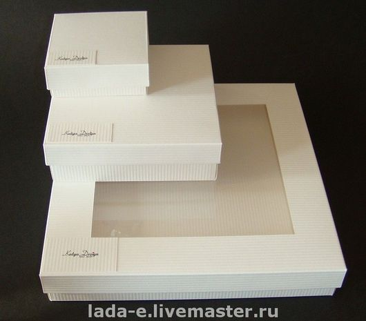 Wrapping Supplies handmade. Livemaster - handmade. Buy Packing for jewelry.White, box pendant