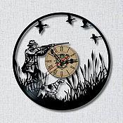 Часы ручной работы. Ярмарка Мастеров - ручная работа Часы: Охотник. Handmade.