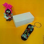 Сувениры и подарки ручной работы. Ярмарка Мастеров - ручная работа Мини коробочка 6,5 х 3 х 3 см из дизайнерской бумаги. Handmade.