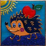 """Сувениры и подарки ручной работы. Ярмарка Мастеров - ручная работа Магнит """"Ёжик"""". Handmade."""