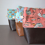 Сумки и аксессуары ручной работы. Ярмарка Мастеров - ручная работа Проектная сумочка для вязания. Handmade.