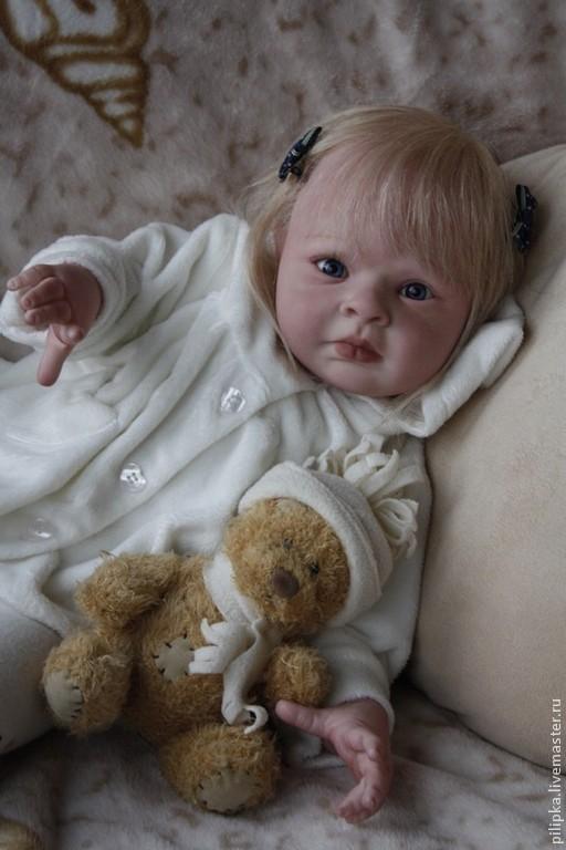 Куклы-младенцы и reborn ручной работы. Ярмарка Мастеров - ручная работа. Купить Кукла реборн. Рябинка.. Handmade. Белый, винил