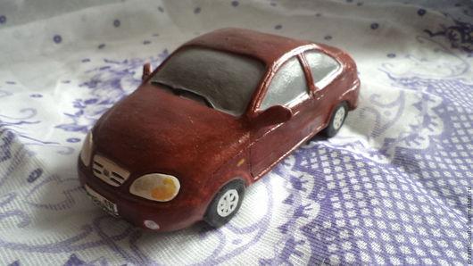 Автомобиль Kia spektra из керамики ручной работы